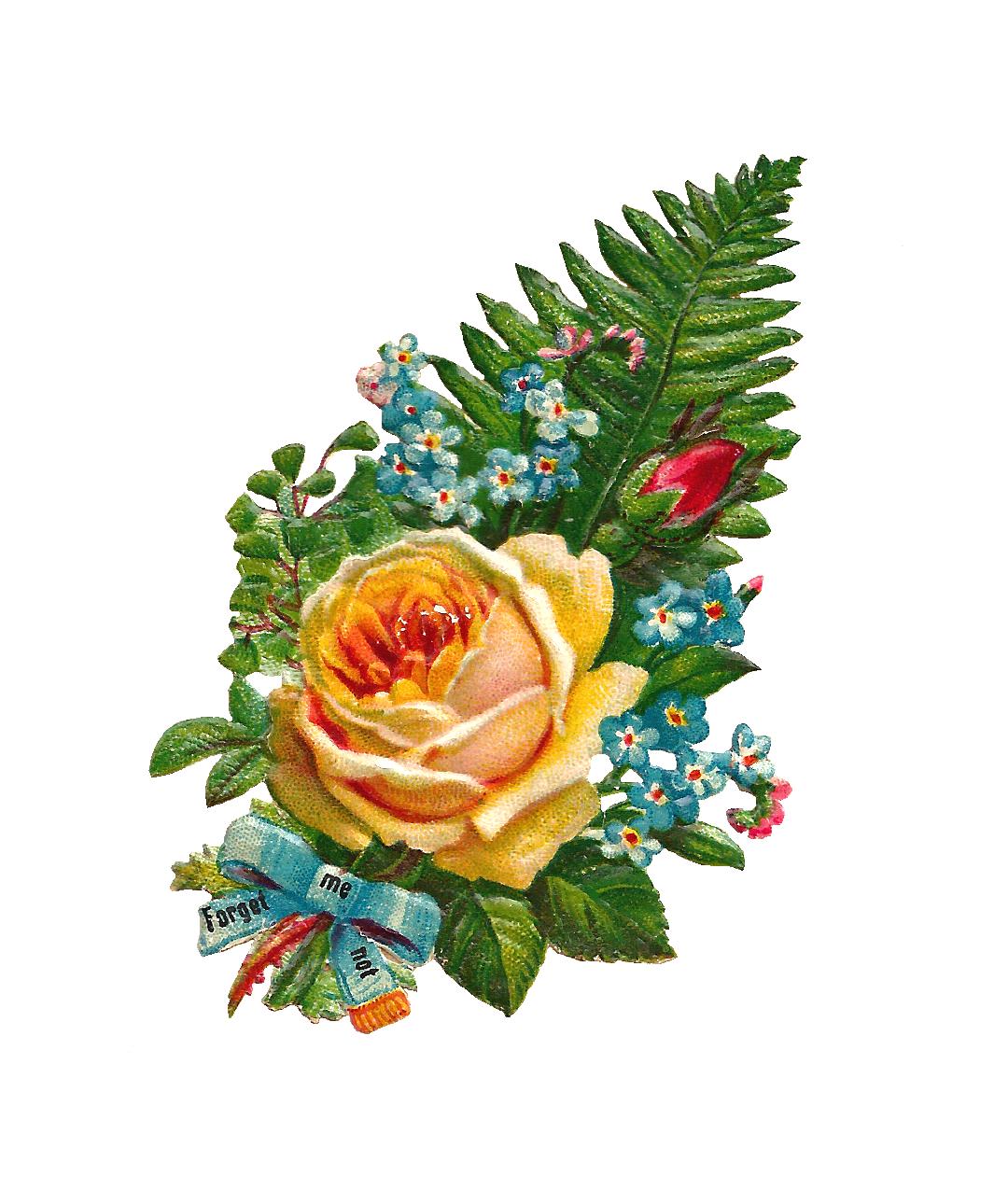 Birthday Flowers PNG HD - 142166
