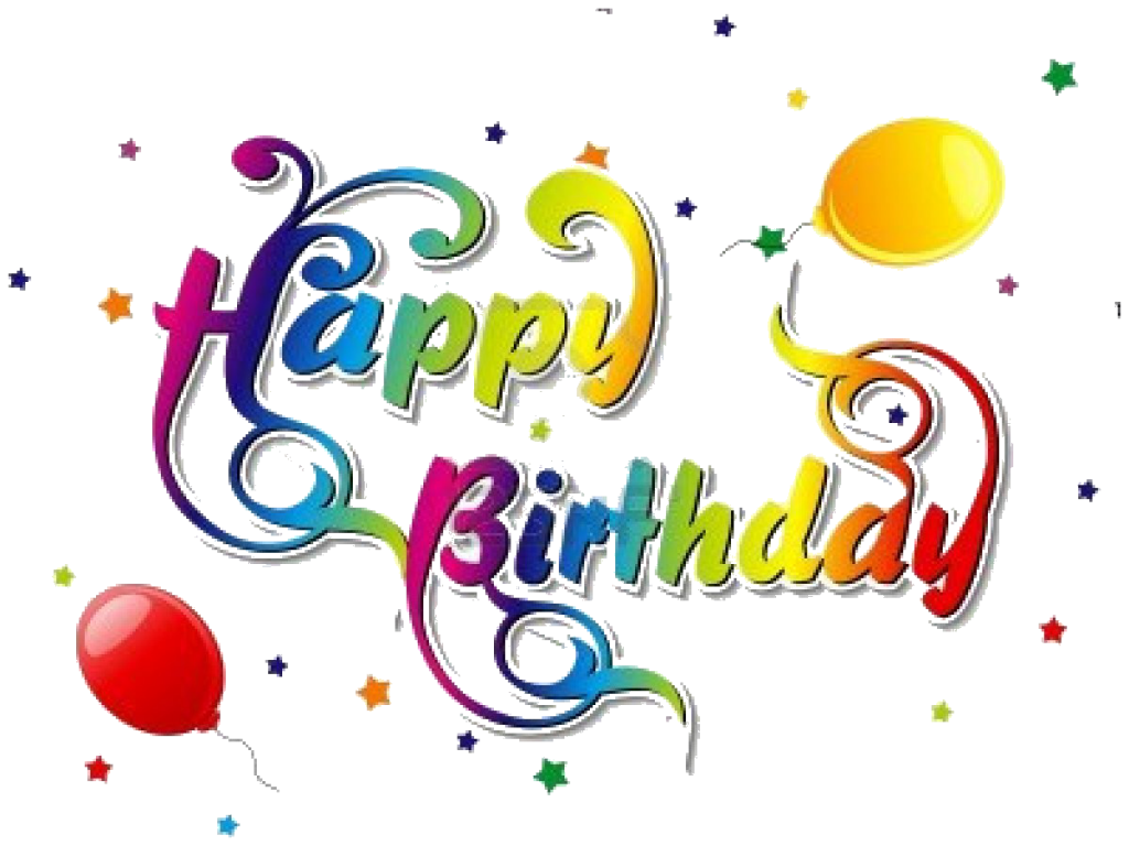Birthday HD PNG - 93431