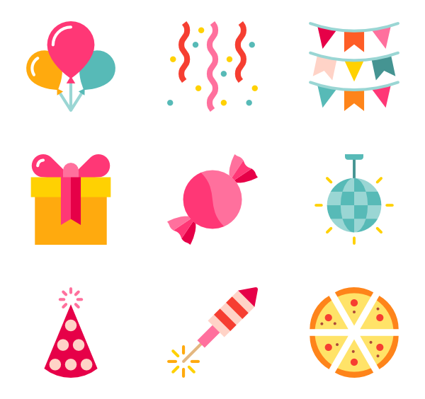 Birthday Party PNG HD - 128589