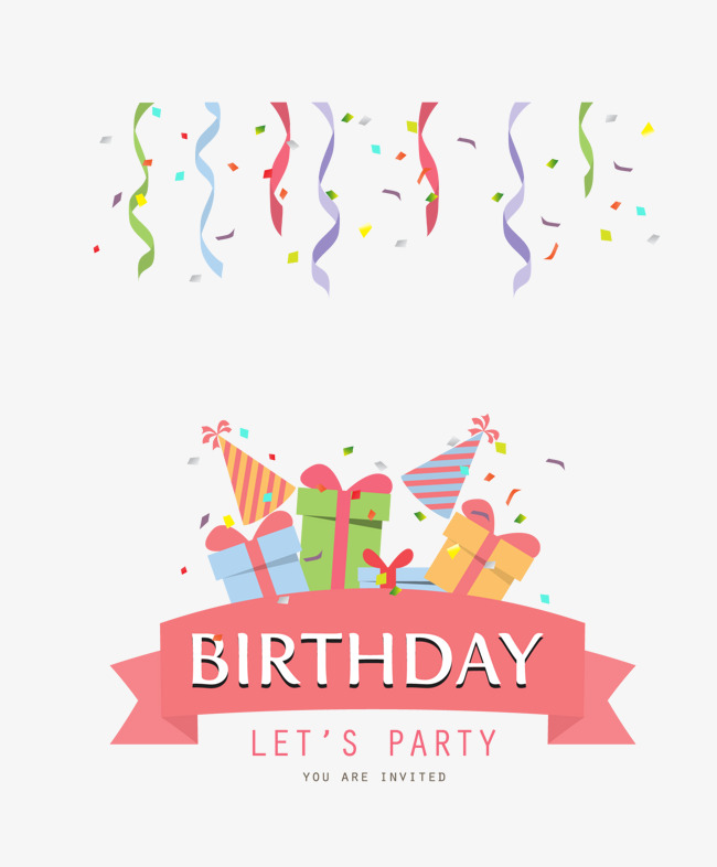 Birthday Party PNG HD - 128587