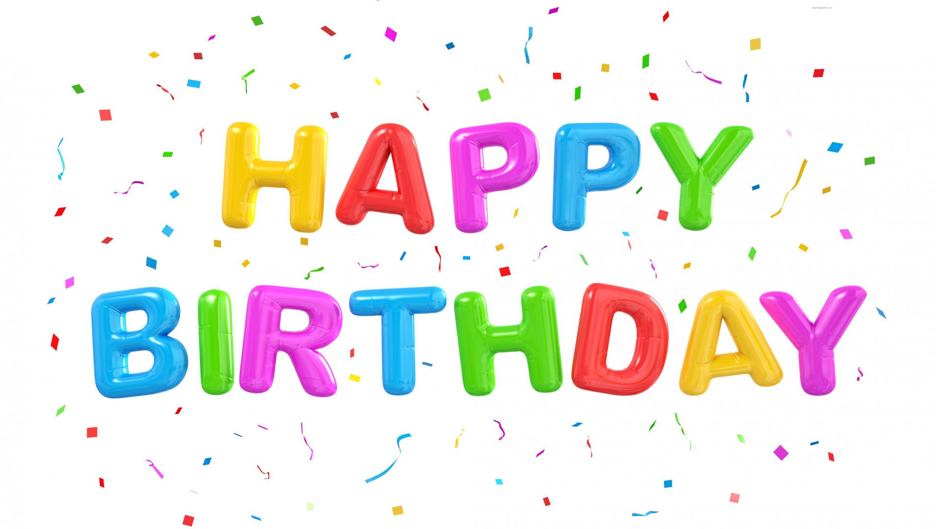 Birthday PNG HD Animated