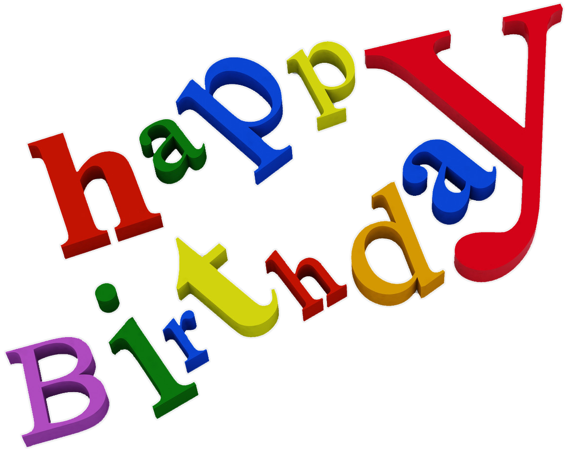 Happy Birthday Png Text - Clipart Library - Birthday PNG HD Pictures
