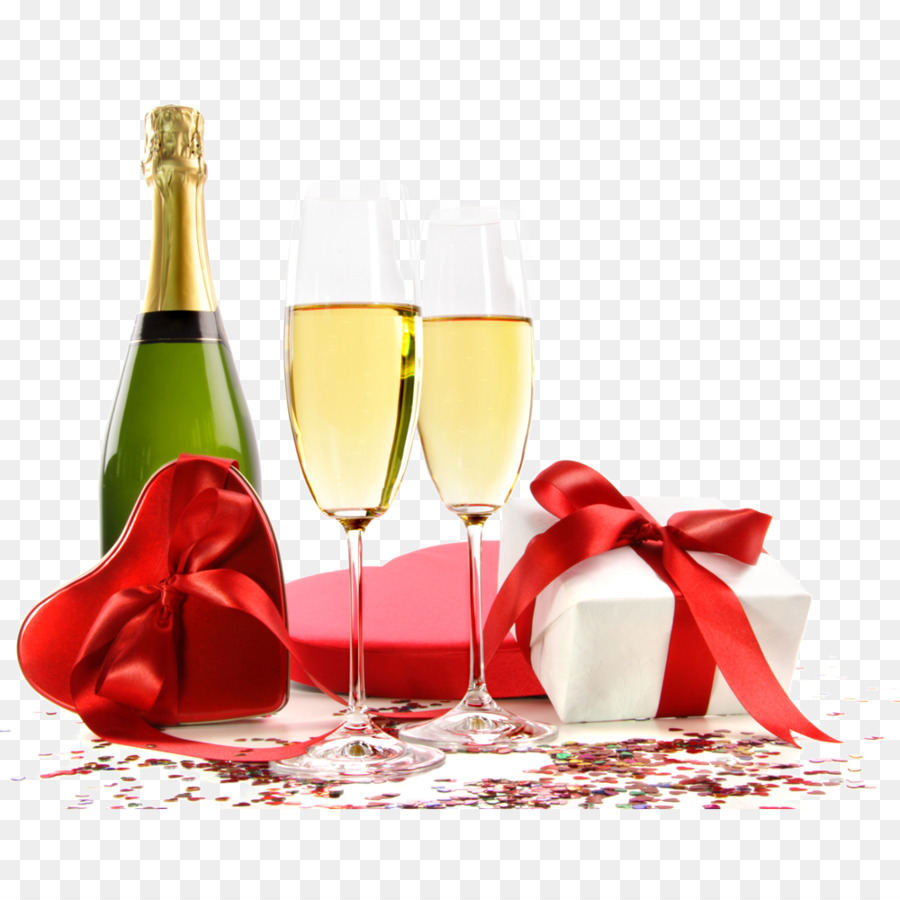 Beer Champagne Wine Birthday cake Breakfast - champagne - Birthday Wine PNG