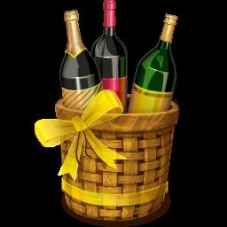 Birthday Wine PNG