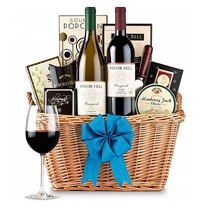 Wine Baskets - Birthday Wine PNG