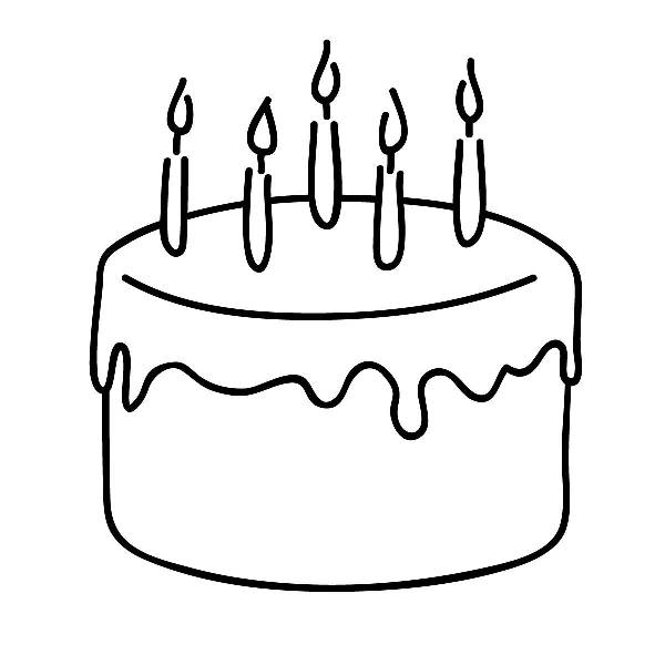 Black And White Cake PNG - 155690