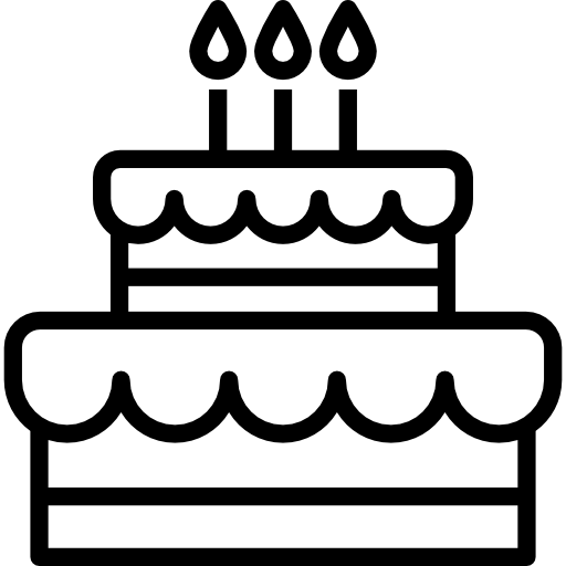 Black And White Cake PNG - 155698