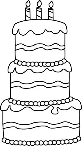 Black And White Cake PNG - 155703