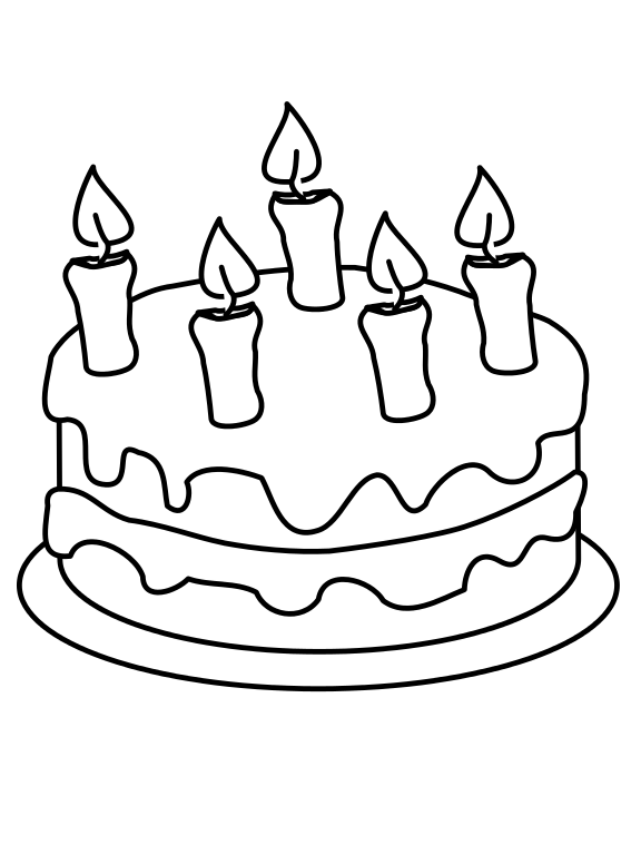 Black And White Cake PNG - 155699