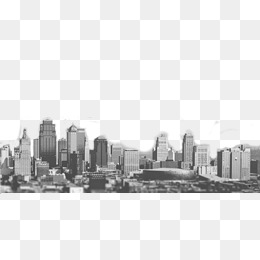 Black and white city buildings, Black And White, City, Building PNG Image  and - Black And White City PNG