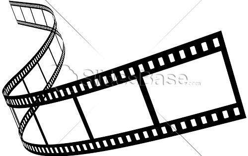Black And White Film Strip PNG - 157798