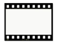 Black And White Film Strip PNG - 157804