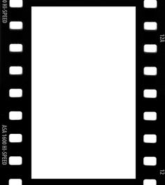 Black And White Film Strip PNG - 157802