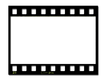 Black And White Film Strip PNG - 157801