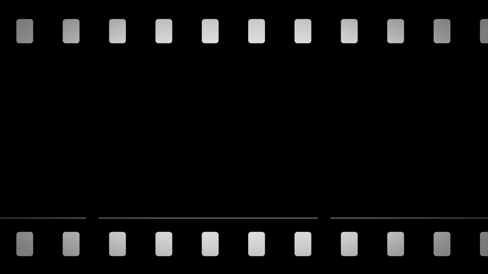 Black And White Film Strip PNG - 157810