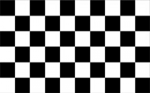 Black And White Flag PNG-PlusPNG.com-300 - Black And White Flag PNG
