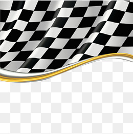 black and white flag border, Frame, Racing Car, Creative PNG Image and  Clipart - Black And White Flag PNG