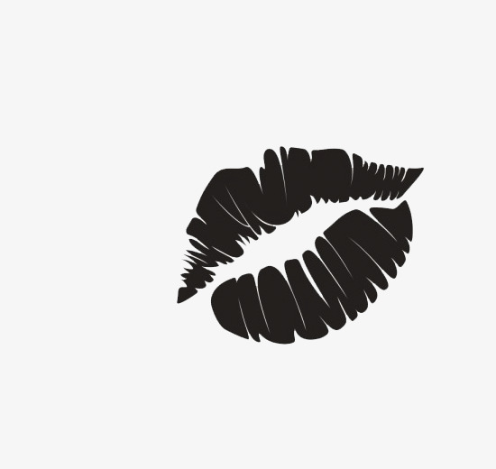 Black Lips, Lipstick, Lip, Black PNG Image and Clipart - Black And White Lips PNG