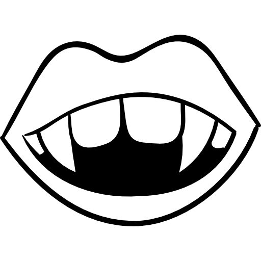 PNG SVG PlusPng.com  - Black And White Lips PNG
