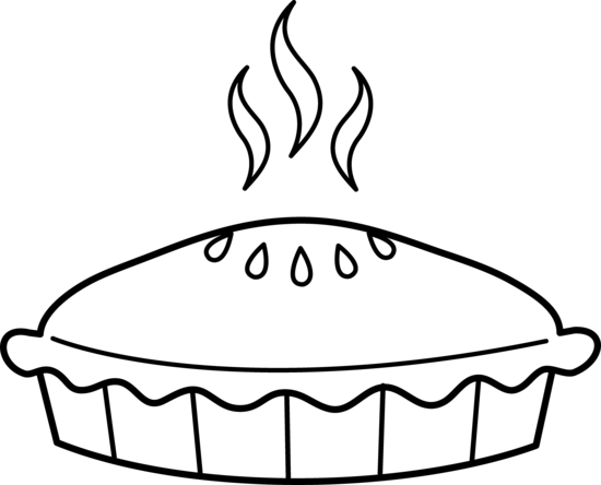 Pie black and white pie clipart black and white - Black And White Pie PNG