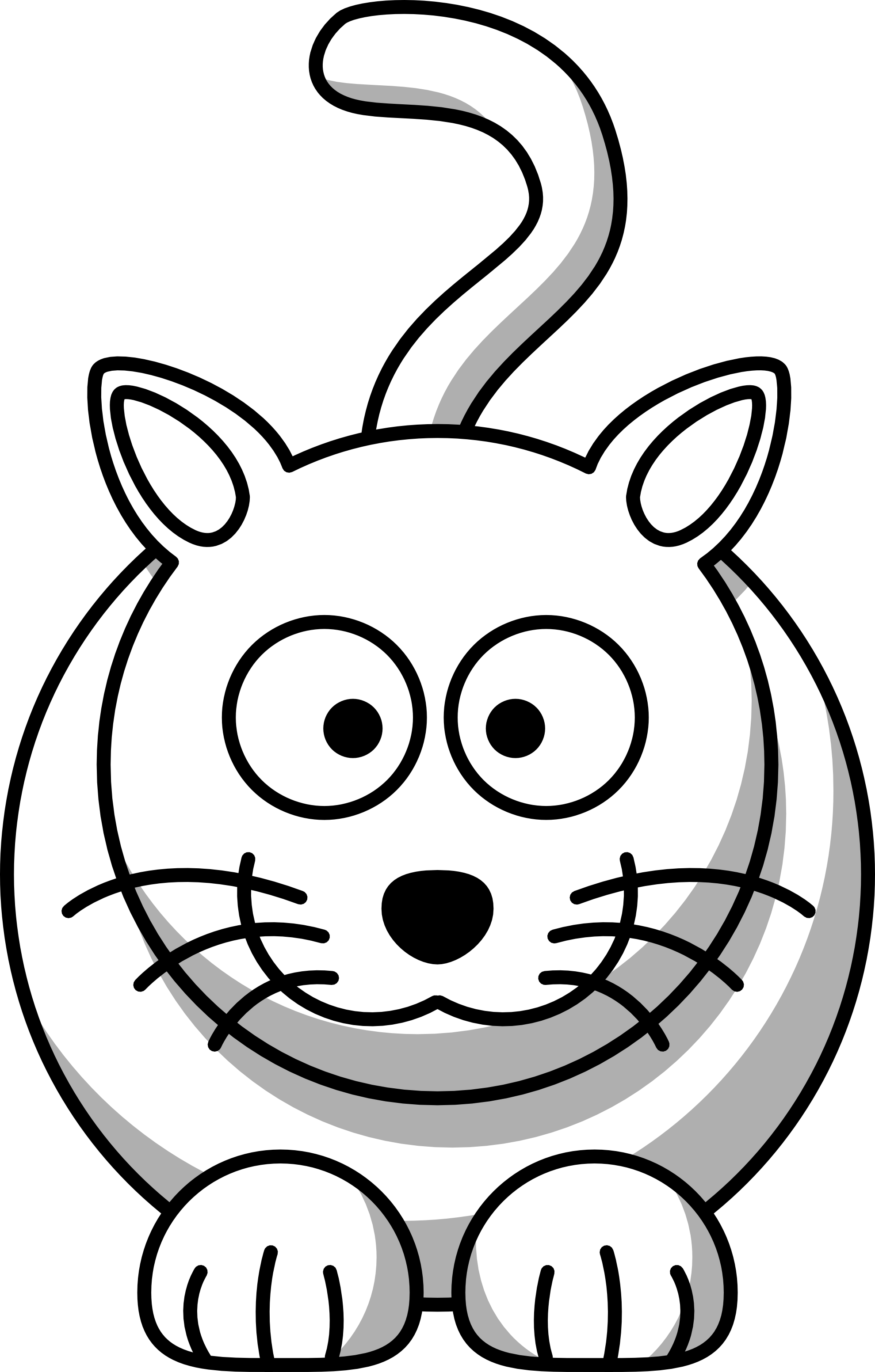 Black And White PNG Pets - 70488