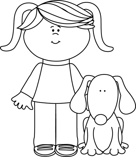 Black And White PNG Pets - 70480
