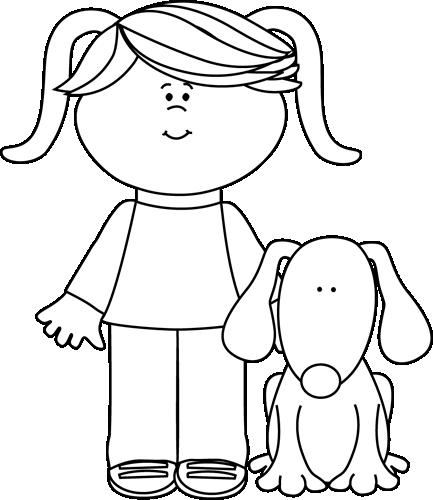 pin Black u0026 White clipart pet #9 - Black And White PNG Pets