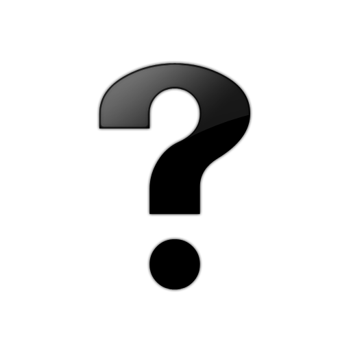 Black And White Question Mark PNG - 139763