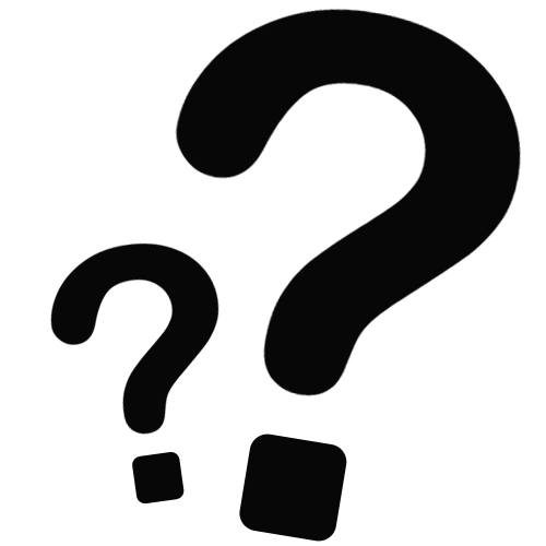 Black And White Question Mark PNG - 139764