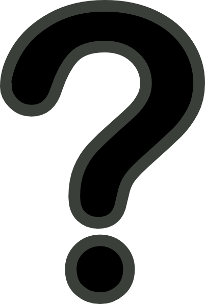 Black And White Question Mark PNG - 139754