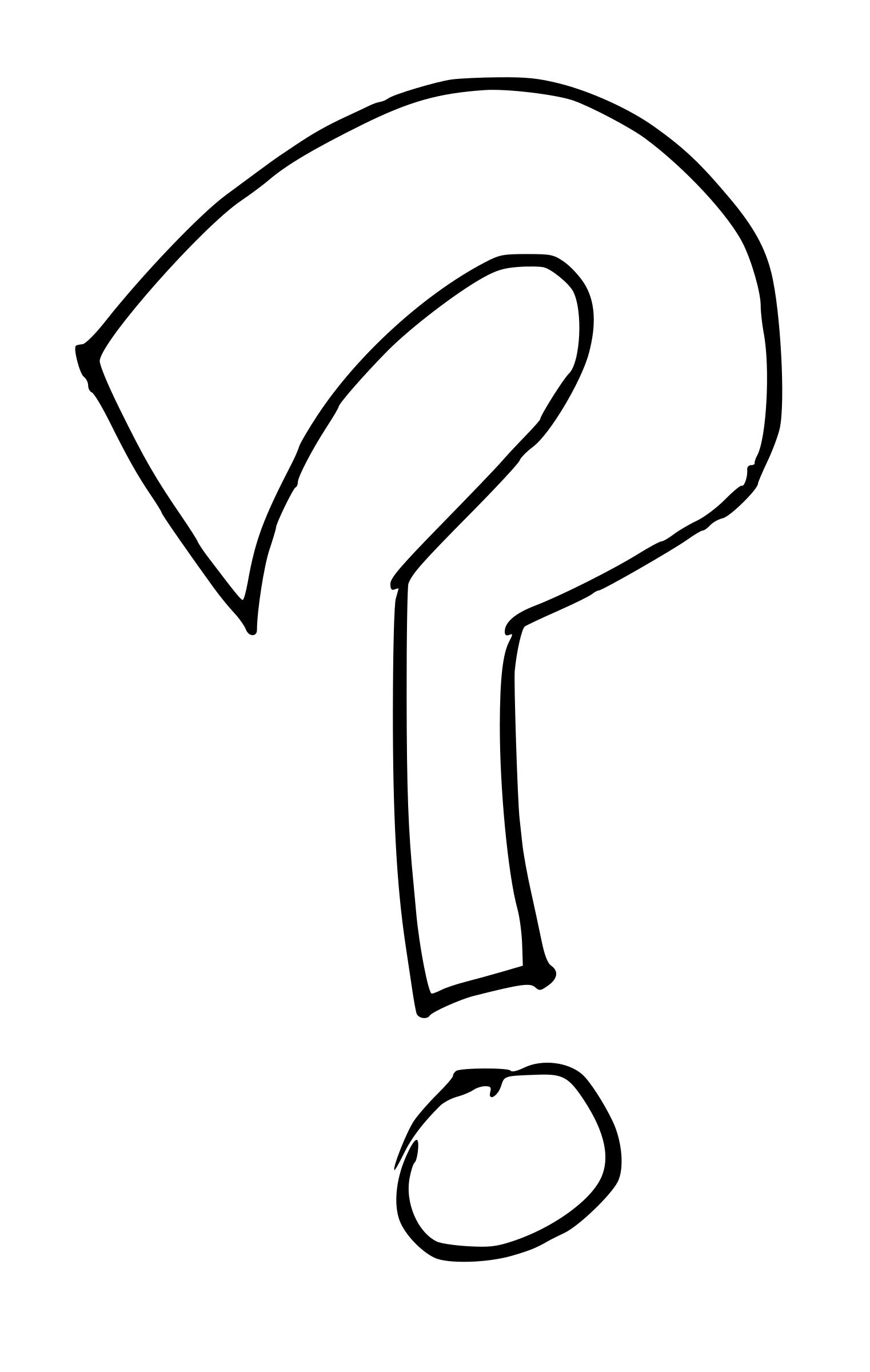 Black And White Question Mark PNG - 139759