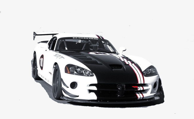 Black And White Car Racing PNG Image Clipart