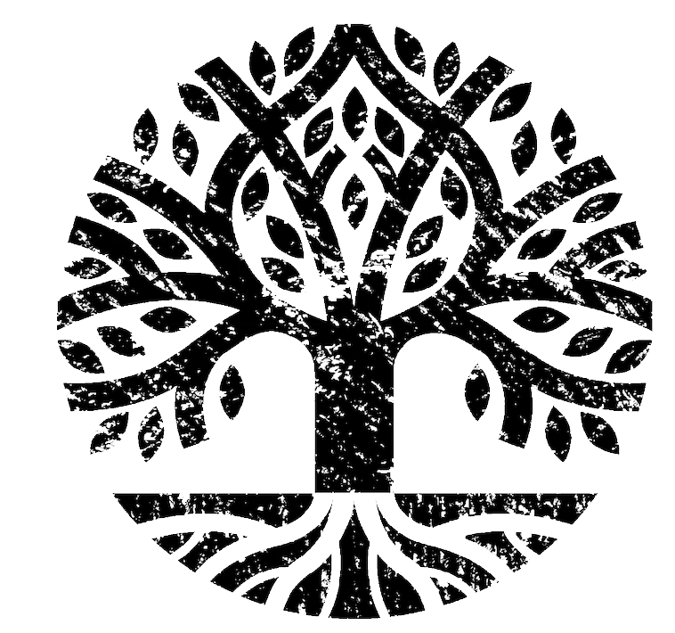 Crest of Life.png - Black And White Tree Of Life PNG