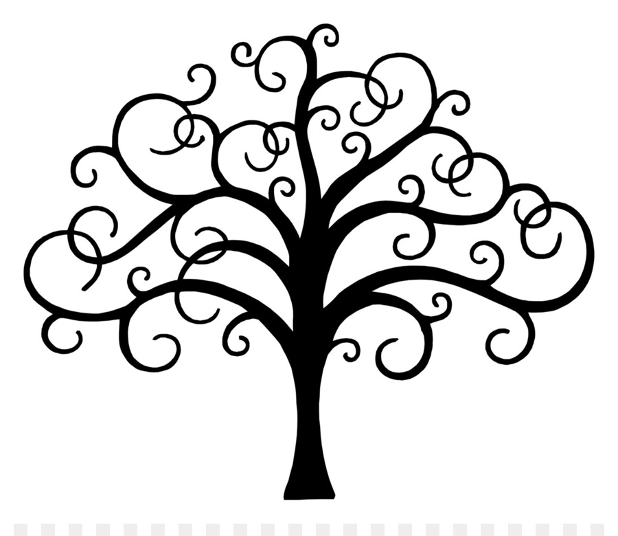 Black And White Tree Of Life PNG - 170285