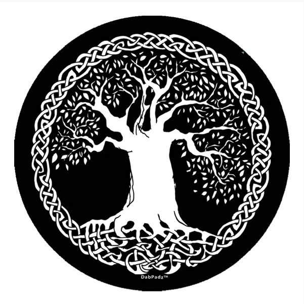 Next - Black And White Tree Of Life PNG