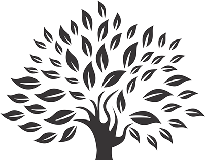 Save Tree - Black And White Tree Of Life PNG