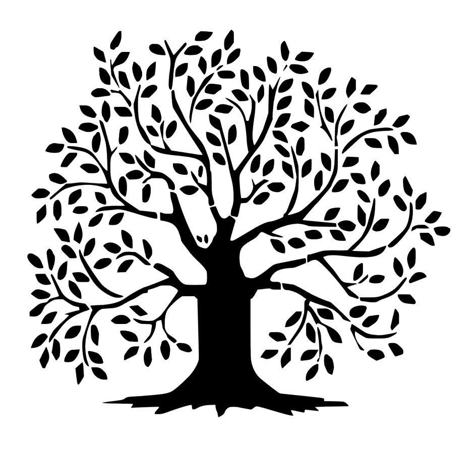 Tree of Life - Black And White Tree Of Life PNG
