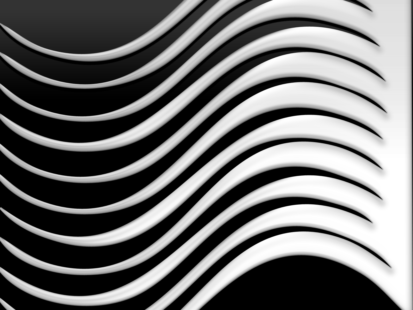 FLMNetwork-whitewave.png (1600×1200) - Black And White Wave PNG