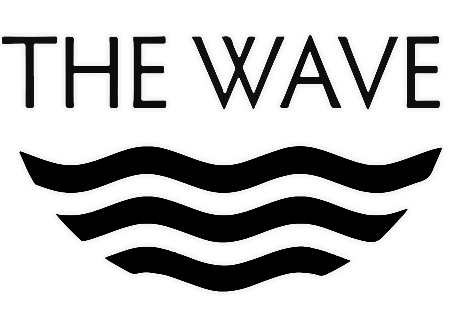 Black And White Wave PNG - 162551