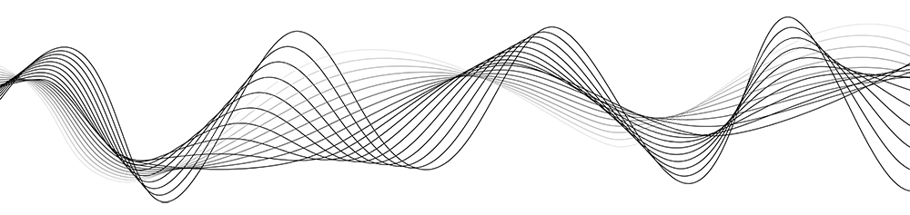 Sound Wave PNG Image - Black And White Wave PNG