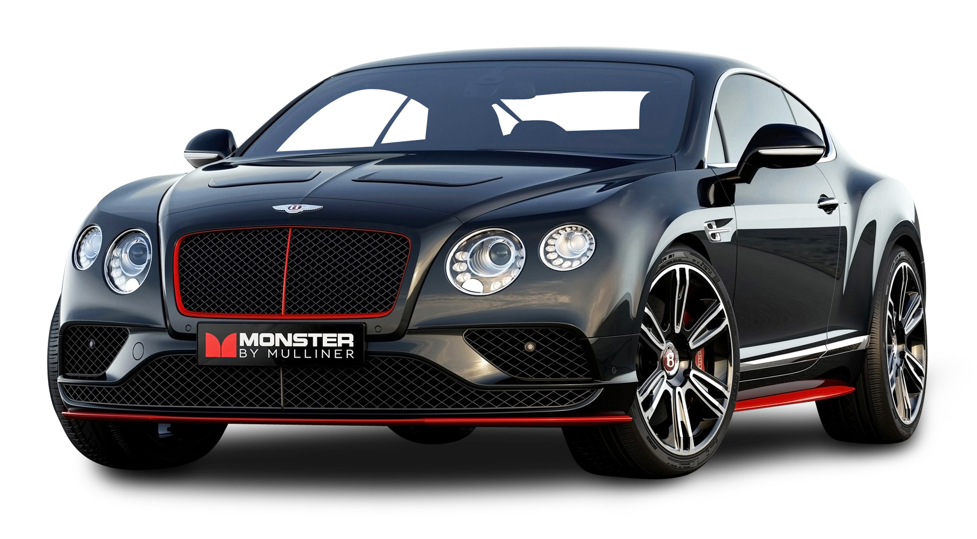 Black Bentley Continental GT V8 Car PNG Image - Bentley PNG