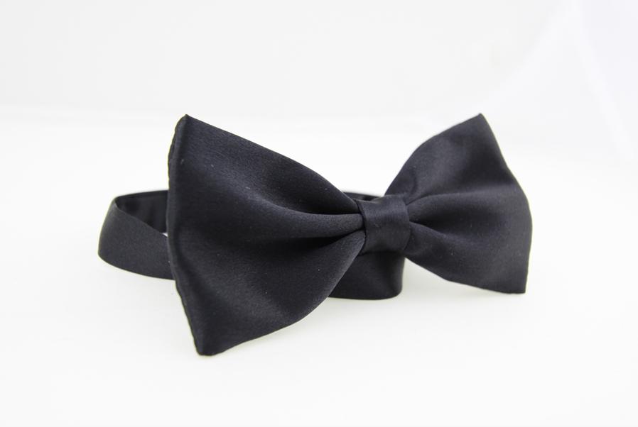 Black bowtie - Black Bow Tie PNG