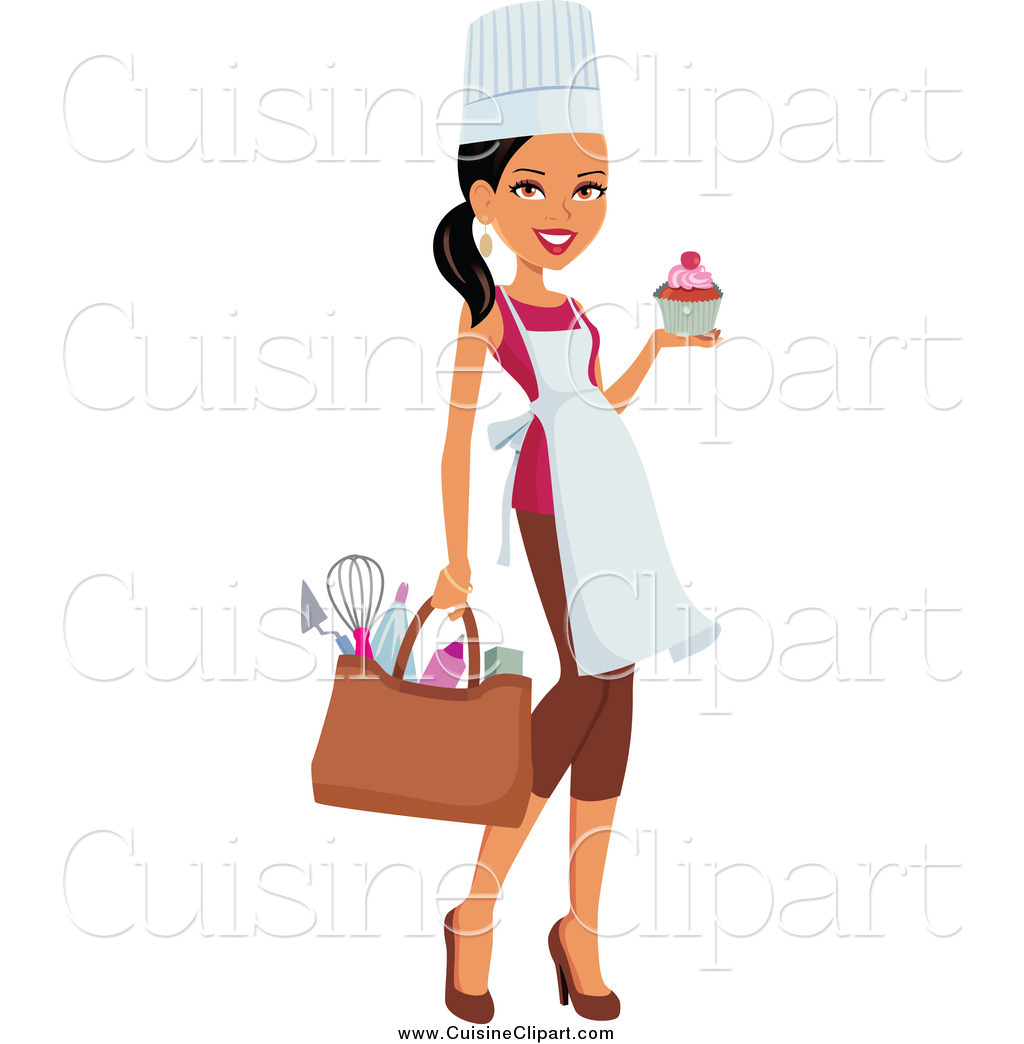 African American Female Chef Clipart #1 - Black Female Chef PNG