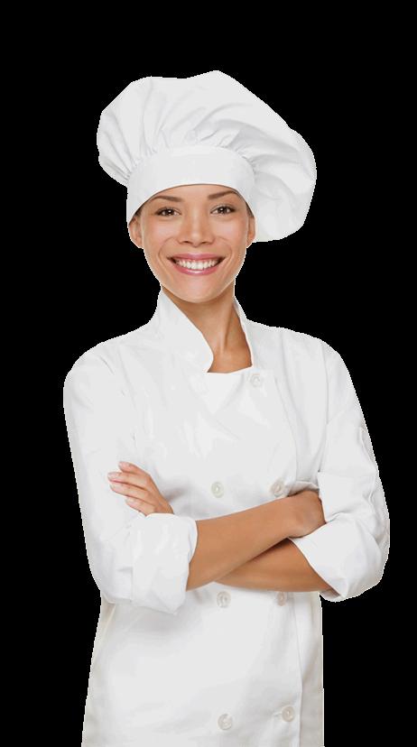 Black Female Chef PNG - 141462