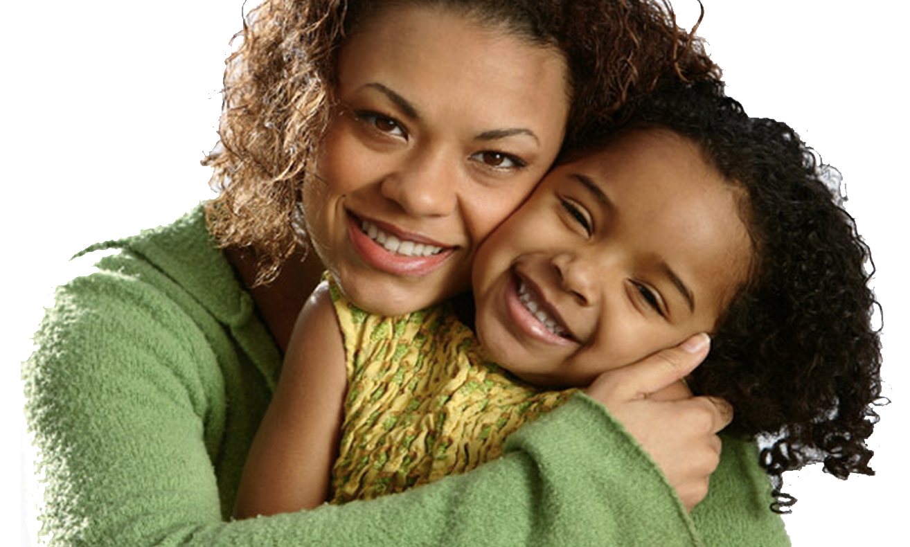 Image result for black mother smile with child