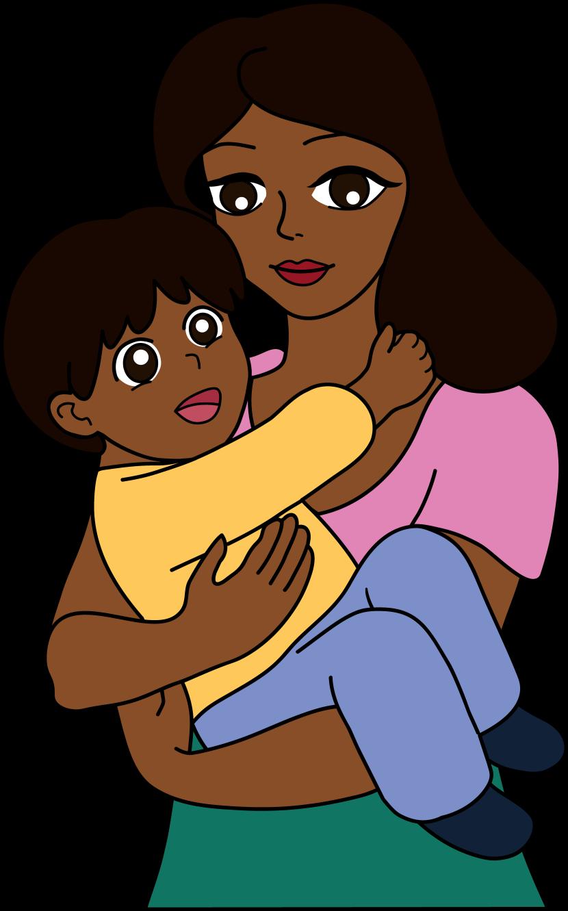 Black Mom PNG - 152587