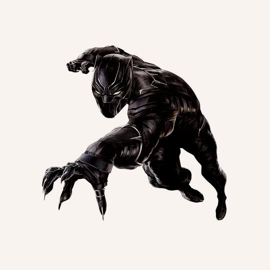 Black Panther cw.png - Black Panther PNG