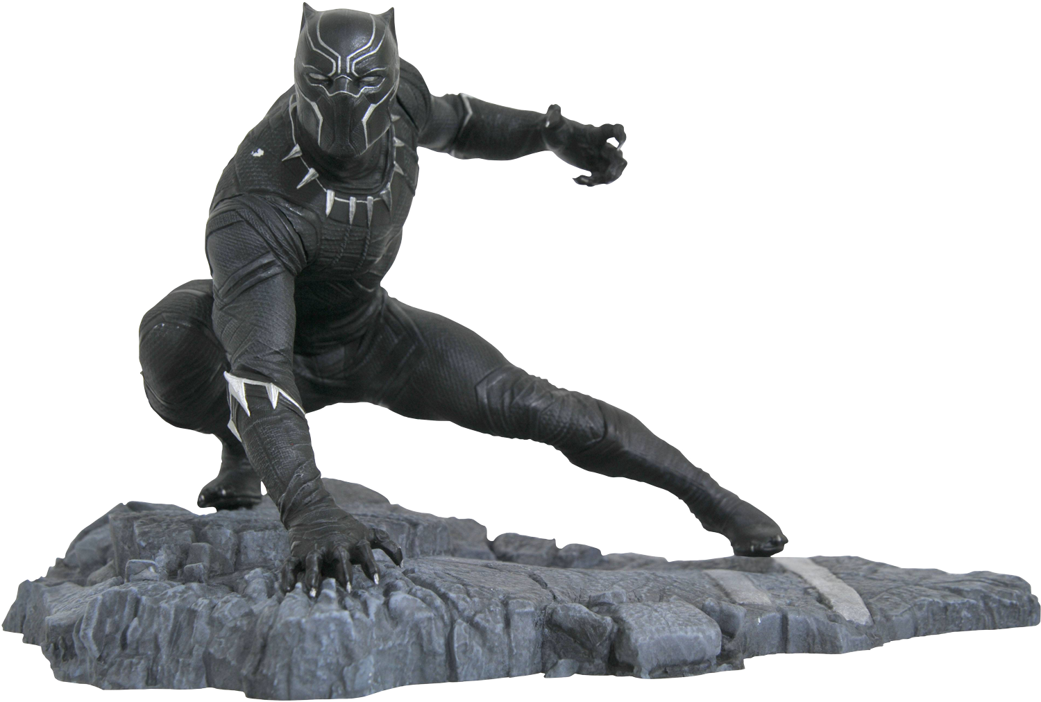 marvel-gallery-black-panther-pvc-statue-popcultcha-new.png (1500×1012) |  Statues | Pinterest - Black Panther PNG
