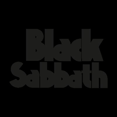 Black Sabbath 1986 vector logo . - Black Sabbath 1986 Vector PNG - Black Sabbath 1986 Logo PNG