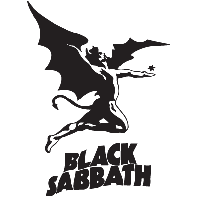 Black Sabbath logo vector free . - Black Sabbath 1986 Vector PNG - Black Sabbath 1986 Logo PNG